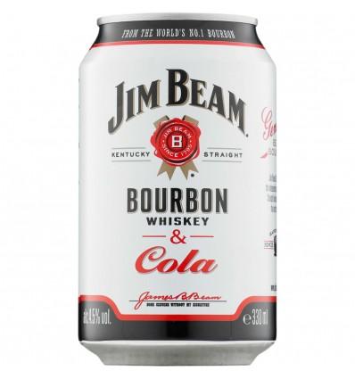 Jim Beam & Cola 0,33l 4,5%