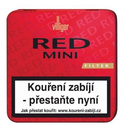 Doutníky Villiger Red Mini Filter 20ks