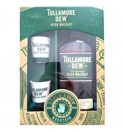 Tullamore Dew 0,7l 40% + 2 Keramické Panáky