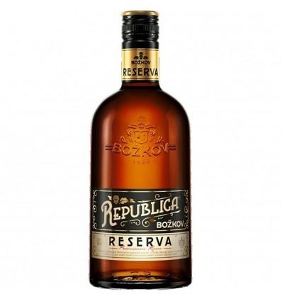 Božkov Republica Reserva 0,5l 40%