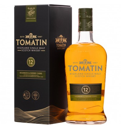Tomatin 12y Whisky 1l 43%