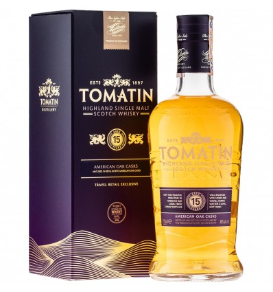 Tomatin 15y Whisky 0,7l 46%
