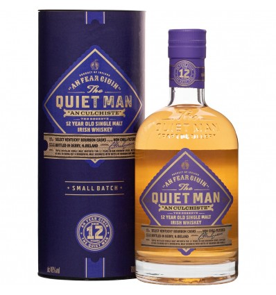 Quiet Man 12y Whiskey 0,7l 46%