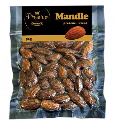 Mandle pražené uzené Premium 50g