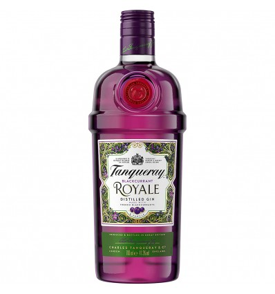 Tanqueray Black Currant Royale Gin 0,7l 41,3%