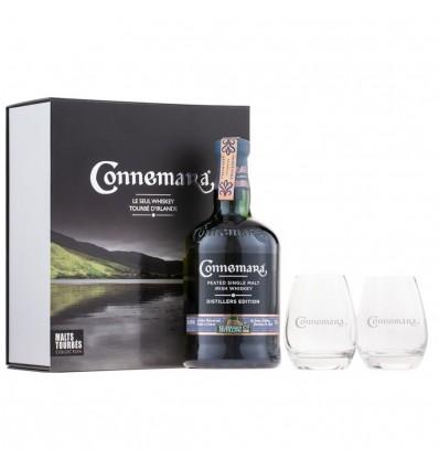 Connemara Distillers Edition Whiskey 0,7l 43% + 2 skleničky