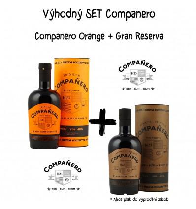 Set Companero Elixir Orange + Gran Reserva 2 x 0,7l 40%