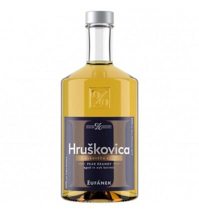 Žufánek Hruškovica z Dubového Sudu 0,5l 40%