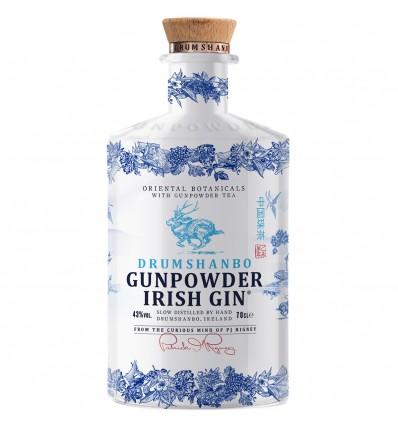 Drumshanbo Gunpowder Ceramic Irish Gin 0,7l 43%