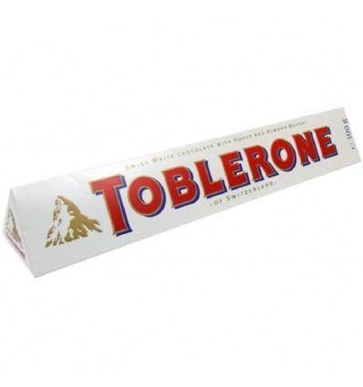 Toblerone čokoláda bílá 100 g