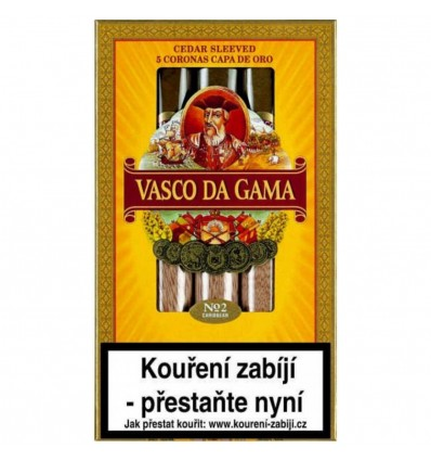 Doutník Vasco da Gama No.2 Capa de Oro 5 ks