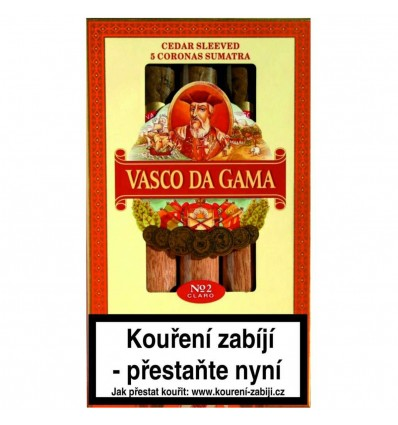 Doutník Vasco da Gama No.2 Claro 5 ks
