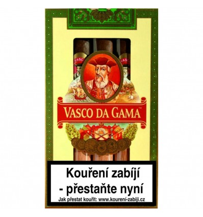 Doutník Vasco da Gama No.2 Maduro 5 ks