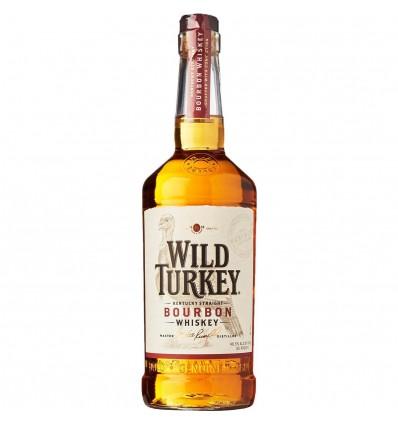 Wild Turkey 81 Proof Bourbon Whiskey 0,7l 40,5%