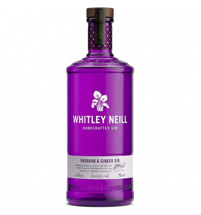 Whitley Neill Rhubarb&Ginger 0,7l 43%