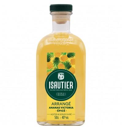 Isautier Arrangé Épicé Ananas Victoria 0,5l 40%