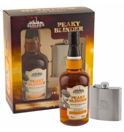 Peaky Blinder Irish Whiskey 0,7l 40% + Placatka