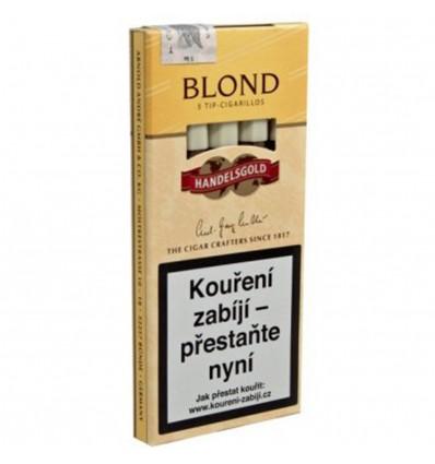 Doutníky Handelsgold Blond Se Špičkou - 5 ks