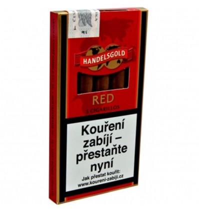 Doutníky Handelsgold Red bez špičky - 5 ks