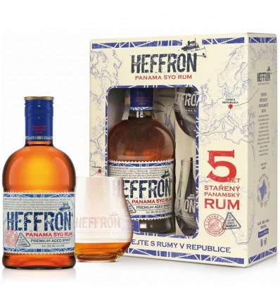 Heffron 0,5 l 38% (dárkové balení 2 skleničky)