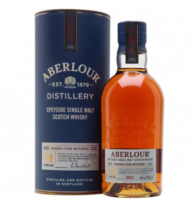 Aberlour 14 y Double Cask Matured 0,7 l 40% (tuba)