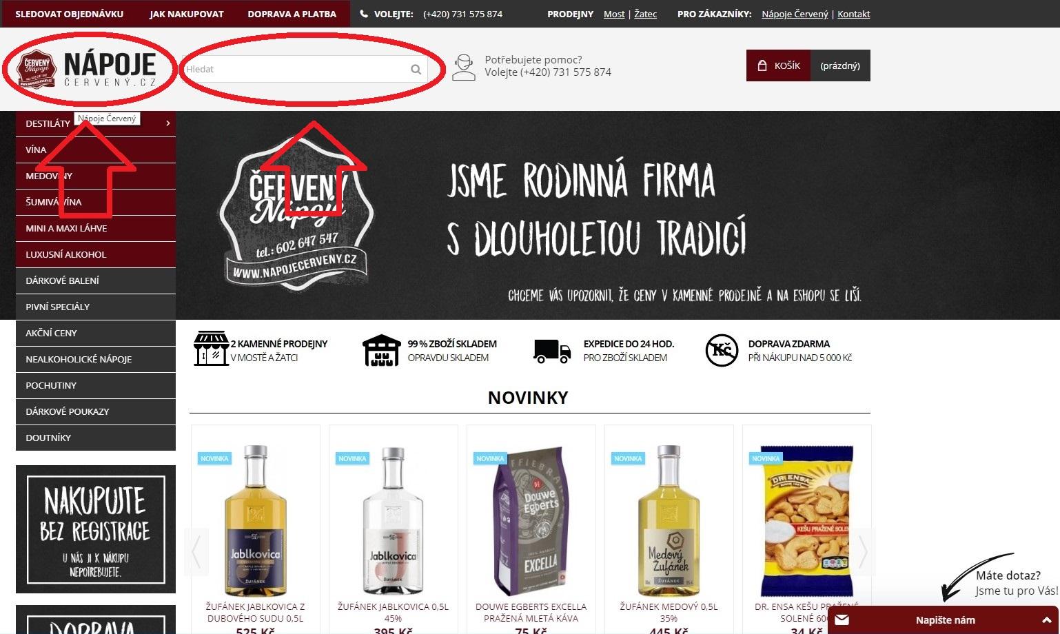 Jak nakupovat?Napojecerveny.cz