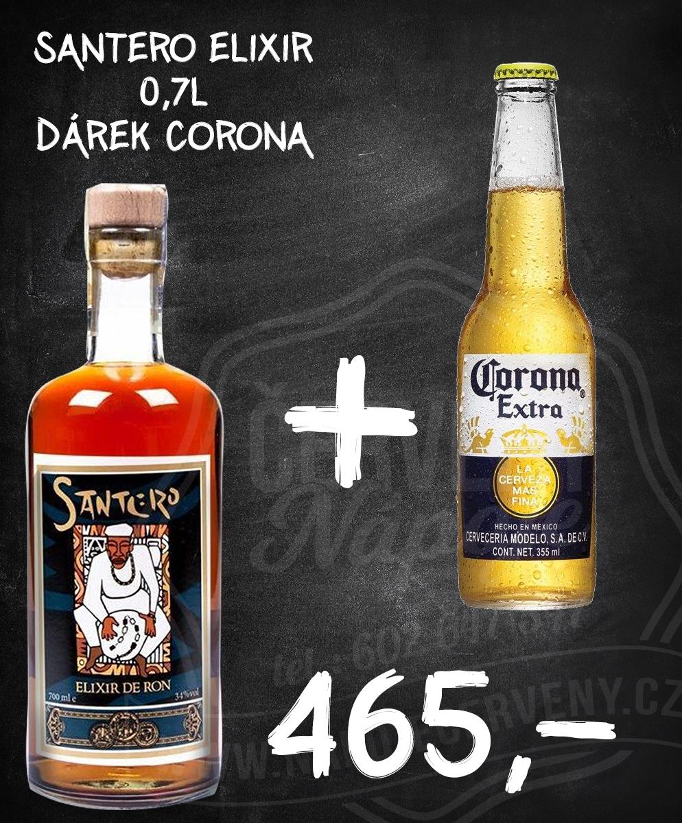 Santero + Corona